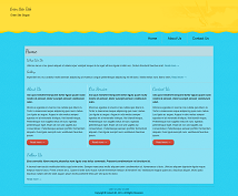 Ocean Responsive Website Template